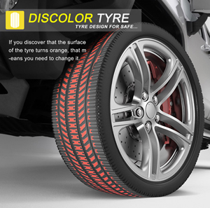 Discolor Tyres